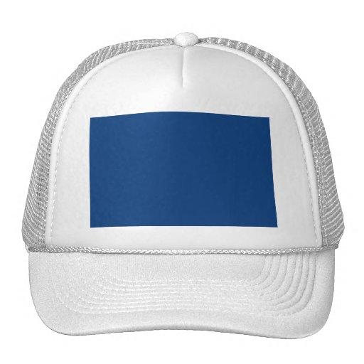 Deep royal blue hats