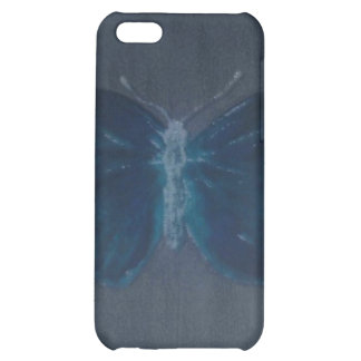 Deep Royal Butterfly Case For iPhone 5C