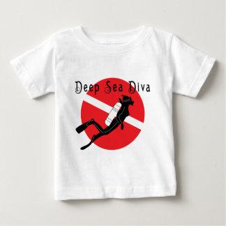 Deep Sea Diva Baby Baby T-Shirt