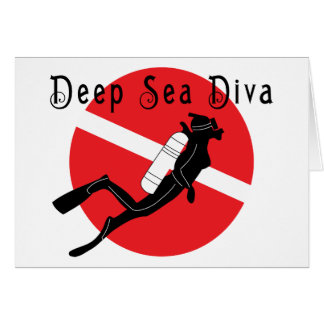 Deep Sea Diva Card