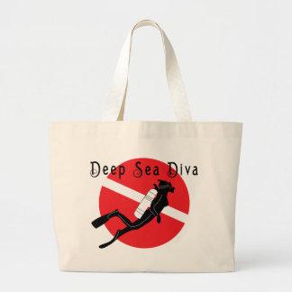 Deep Sea Diva Large Tote Bag