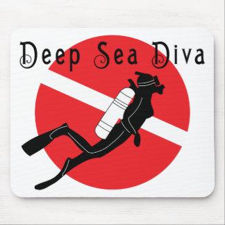Deep Sea Diva Mouse Pad