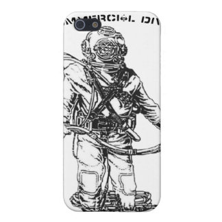 Deep Sea Diver Iphone Cover Cases For iPhone 5
