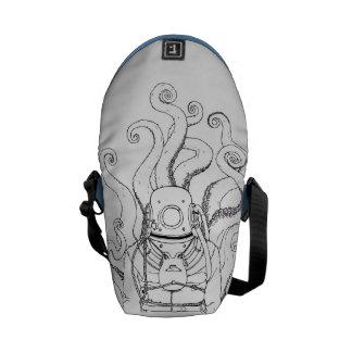 Deep Sea Diver Messenger Bag