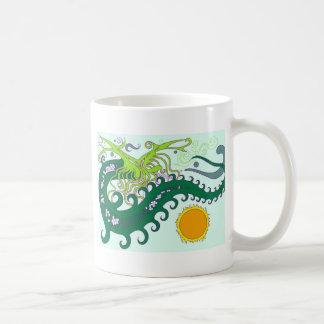 Deep sea Dragon Mugs (Green)