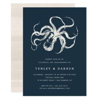 Deep Sea | Engagement Party Invitation