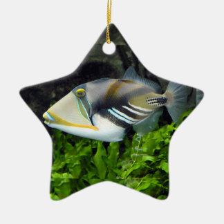 Deep sea fish christmas ornament