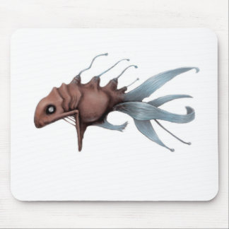 Deep Sea Fish Design Mouse Mat