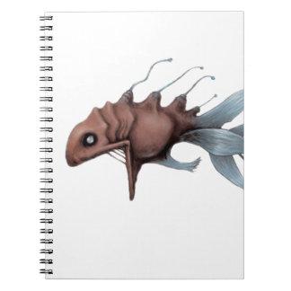 Deep Sea Fish Design Notebook