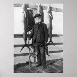 Deep Sea Fisherman, 1912 Posters