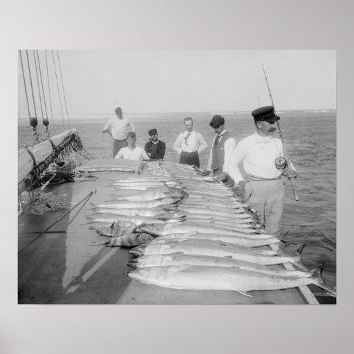Deep Sea Fishing, 1894 Posters