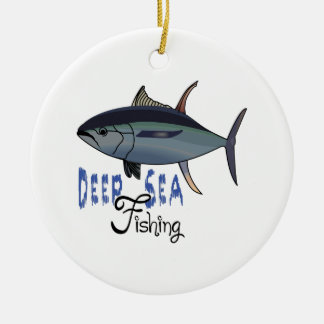 DEEP SEA FISHING CHRISTMAS ORNAMENT