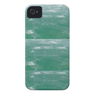 Deep Sea Green :  Wave Pattern iPhone 4 Case-Mate Case