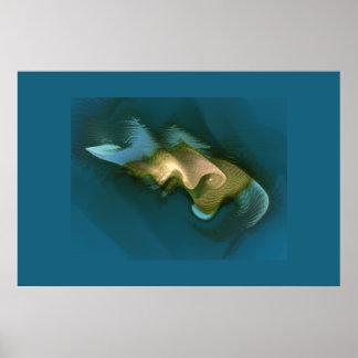 deep sea monster poster