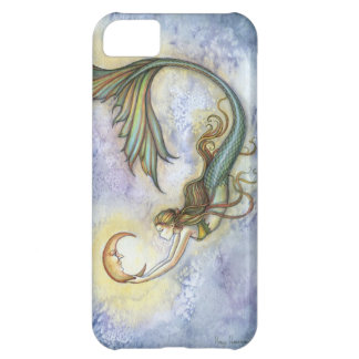 Deep Sea Moon Mermaid Fantasy Art iPhone 5 Case