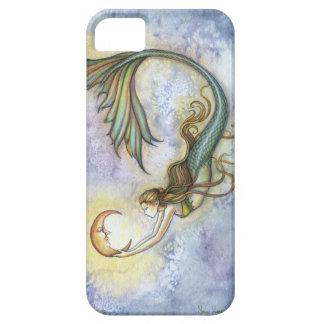 Deep Sea Moon Mermaid Fantasy Art iPhone 5 Case