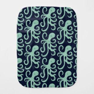 Deep Sea Octopus Burp Cloth