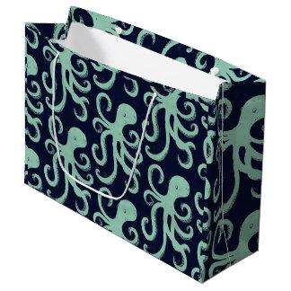 Deep Sea Octopus Large Gift Bag
