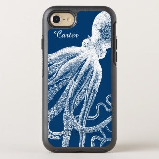Deep Sea Octopus Tentacles Vintage Funny Look OtterBox Symmetry iPhone 7 Case