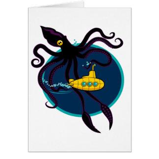 Deep Sea Traffic Greeting Card