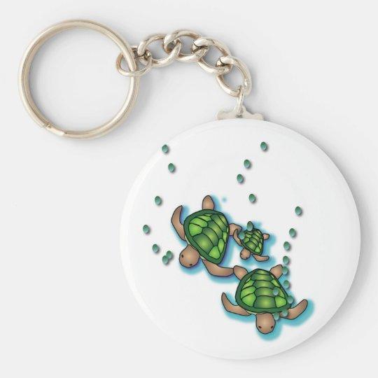 Deep Sea Turtles Keychain