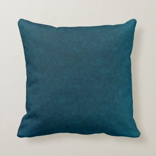 Deep Sea Watercolor - Dark Teal Blue and