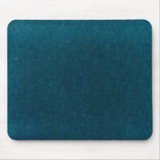Deep Sea Watercolor - Dark Teal Blue and Aqua Mouse Mat