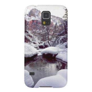 Deep snow at Middle Emerald Pools Galaxy S5 Cover