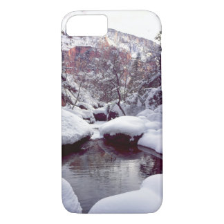 Deep snow at Middle Emerald Pools iPhone 8/7 Case