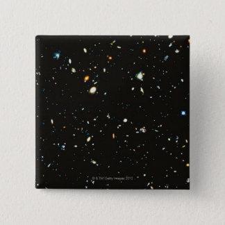 Deep Space 15 Cm Square Badge