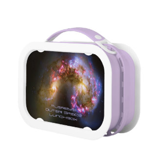 Deep space: Antennae Galaxies, Amazing Astronomy Lunchboxes