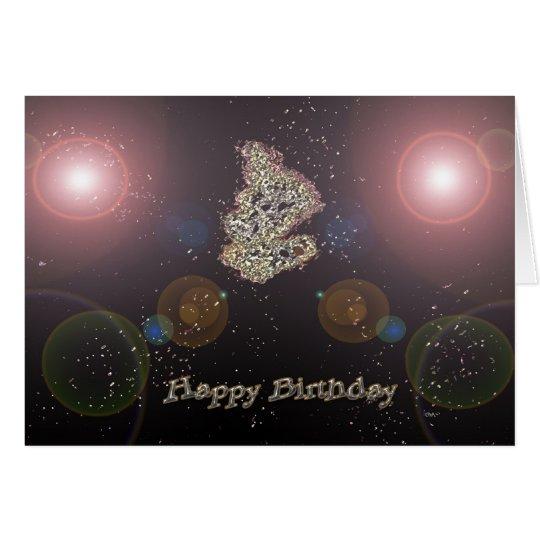 Deep Space Birthday Card