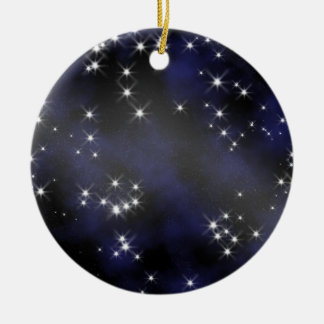 Deep Space Collectible - Personalize Round Ceramic Decoration