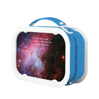 Deep space: Eagle Nebula, Pi, Intriguing Astronomy Lunchbox