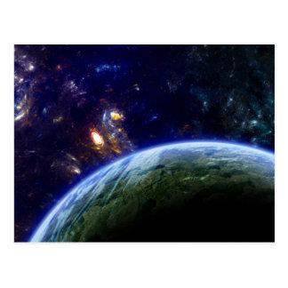 Deep Space Formation Postcard