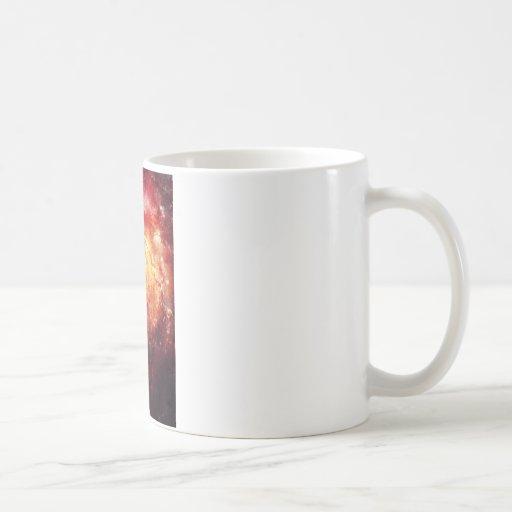 Deep space Galaxy (Messier 101 Remix) Coffee Mugs