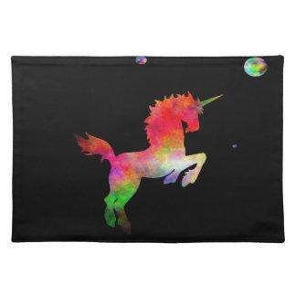 Deep Space Multi-hued Unicorn Placemat