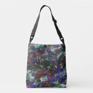Deep Space Mystery Abstract Art Crossbody Bag