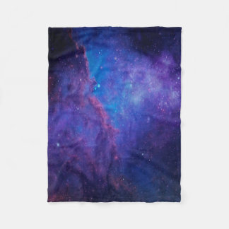 Deep Space Nebula Abstract Background Fleece Blanket
