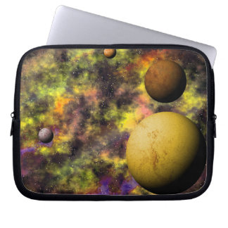 Deep Space Nebula Scene Computer Sleeve