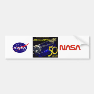 DEEP SPACE NETWORK 50th Anniversary Bumper Stickers