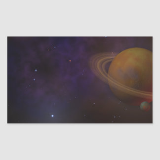 Deep Space Rectangular Sticker
