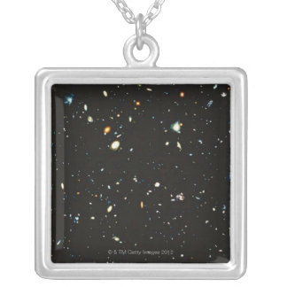 Deep Space Silver Plated Necklace