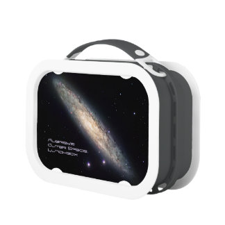 Deep space: Spiral Galaxy, NGC 253 Astronomy Lunchboxes