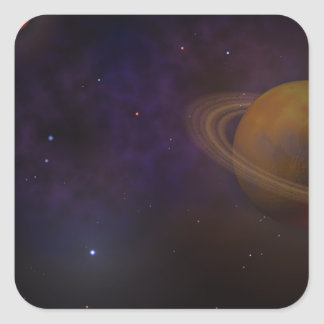 Deep Space Square Sticker