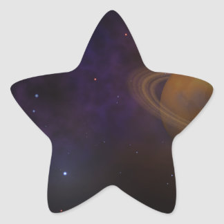 Deep Space Star Sticker