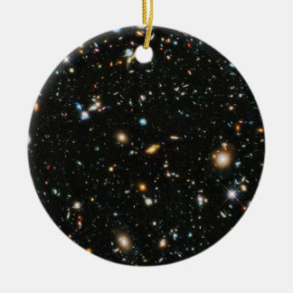 Deep Space Stars and Galaxies Christmas Ornament