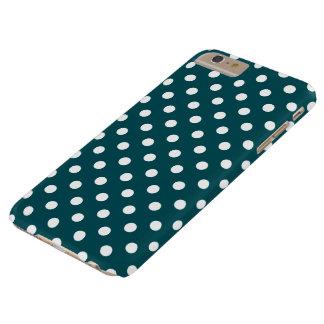 Deep Teal Polka Dot iPhone 6 Plus Case