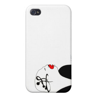 Deep Thinking iPhone 4 Case