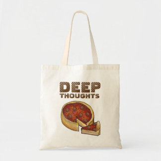 Deep Thoughts Deep Dish Pizza Tote